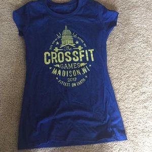Brand new crossfit games Madison Reebok tee